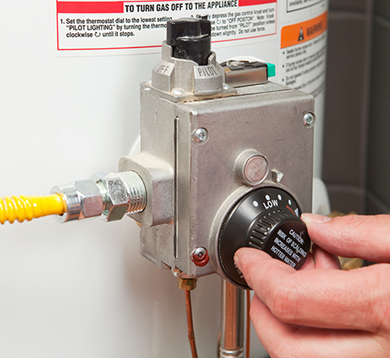 Water Heater Repair Colorado Springs | Family Heating & Cooling - water-dial
